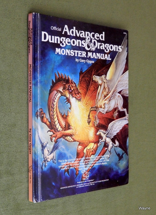 Image for Monster Manual (Advanced Dungeons and Dragons)