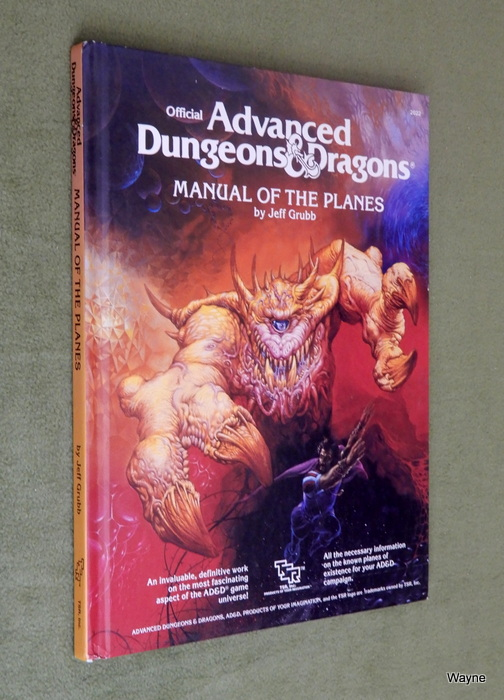 Image for Manual of the Planes (Advanced Dungeons and Dragons)