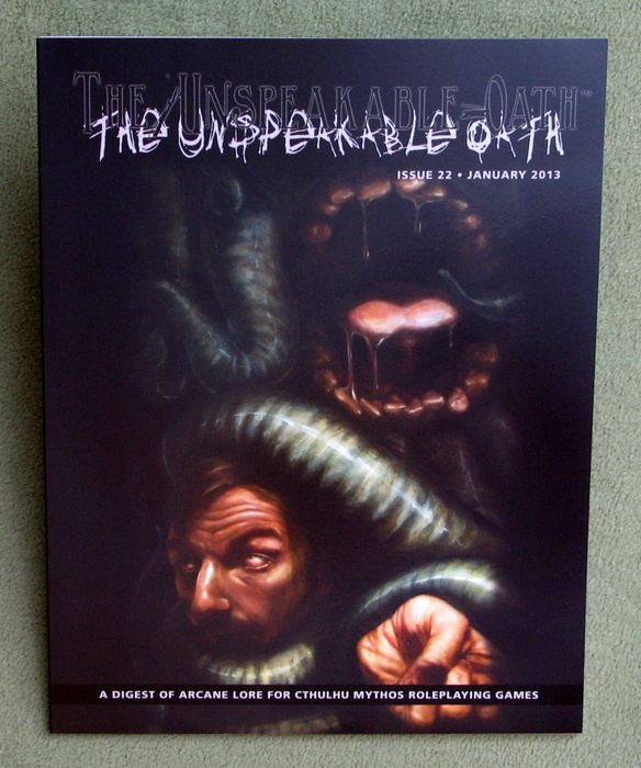 Image for The Unspeakable Oath Issue 22