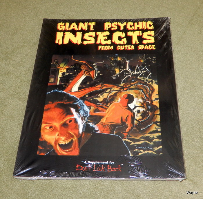 Image for Giant Psychic Insects From Outer Space (Don't Look Back RPG)