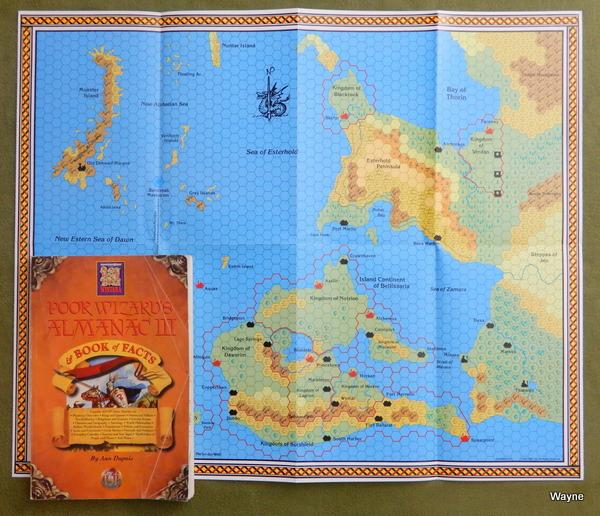 Image for Poor Wizard's Almanac & Book of Facts III (Dungeons & Dragons: Mystara) - PLAY COPY