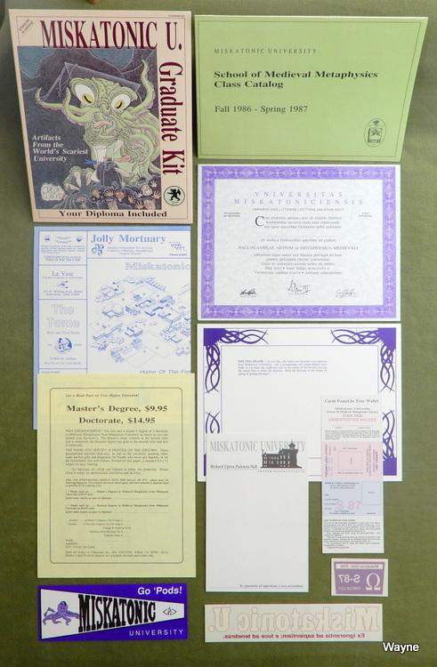 Image for Miskatonic U. Graduate Kit: Artifacts from the Worlds Scariest University (Call of Cthulhu)