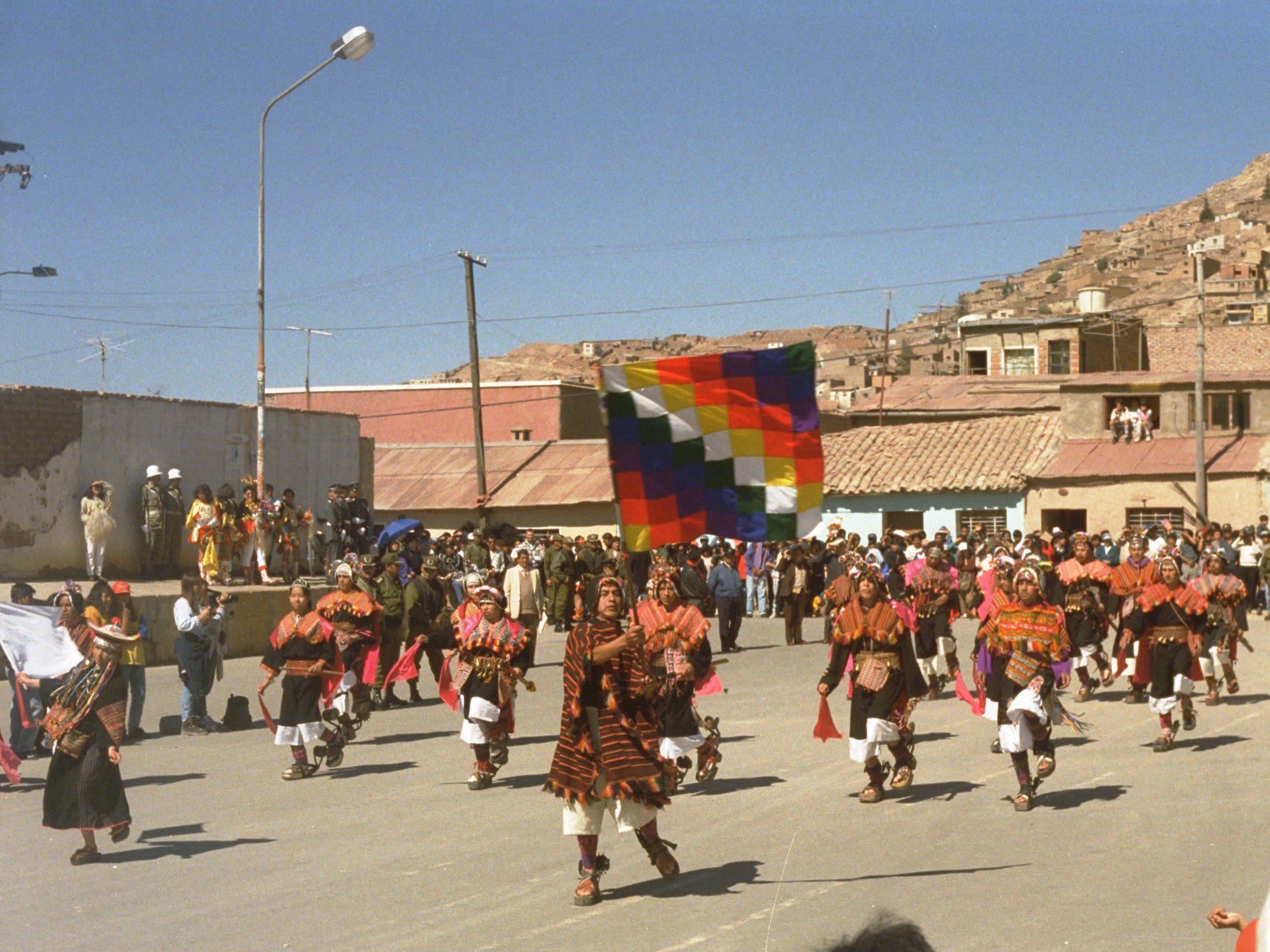 banderas indigenas