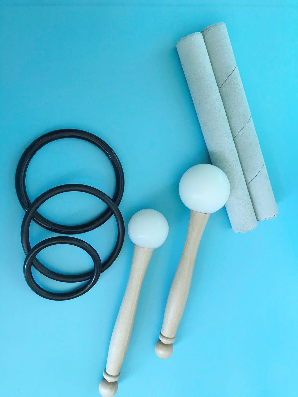 7 Uds 8 pulgadas-14 pulgadas chacra sintonizado de cdefgab nota tazón de blanco para la meditación sanación