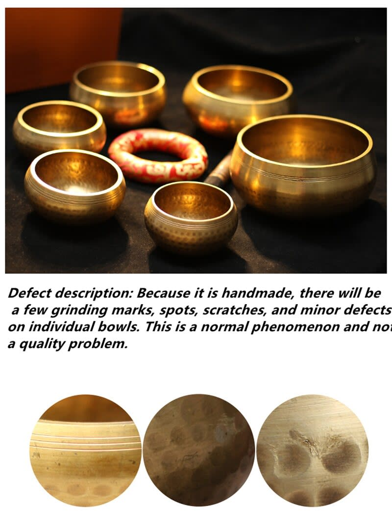 Cuenco para música budista hecho a mano, cuenco para música, Yoga, meditación, cantar