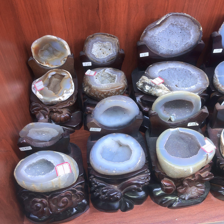 Gema Natural de cristal de cuarzo para acuario, GEMA de racimo de geoda Cornucopia, espécimen Freeform Energy Reiki, accesorios de decoración