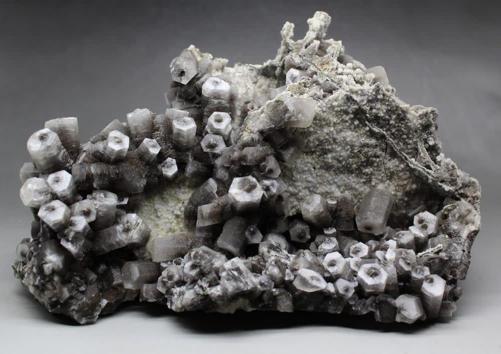 Gemas naturales de calcita de columna, 1726g, espécimen mineral, cristales curativos, piedras preciosas de cuarzo, envío gratis