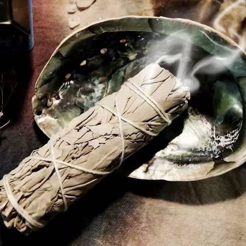 Paquete de hojas de Aroma Premium, palos de Smudge para limpieza del hogar, ritos curativos, R7UB