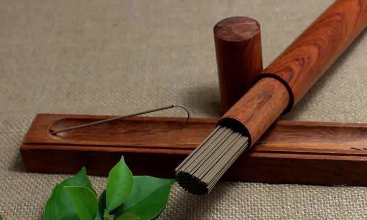 Varillas de incienso de madera de agar 6A Oudh, 21cm, 60 varillas, Aroma dulce para meditación y aromaterapia