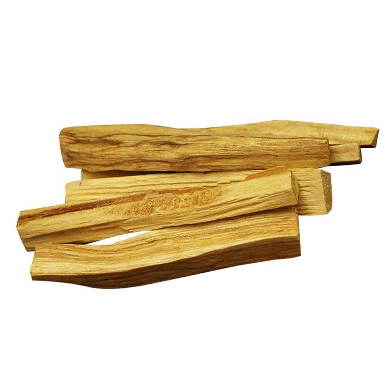 Palo Santo varitas de incienso, Palo de difuminado de madera Natural, tipo aleatorio, 6 uds.