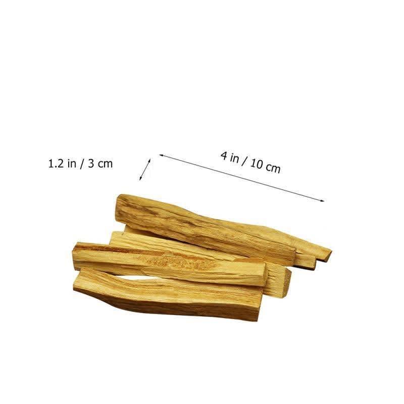 Palo Santo varitas de incienso de madera Natural, varitas de madera para difuminar, para quemar aromaterapia, sin fragancia, tipo aleatorio, 6 uds./1 ud.