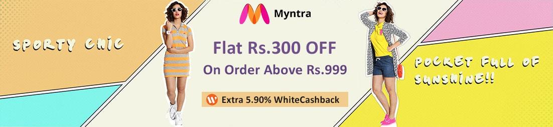 myntra cashback offers