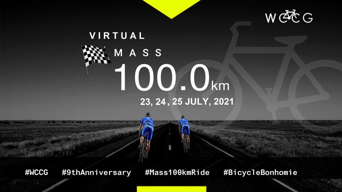 WCCG Virtual Mass 100km - July'21