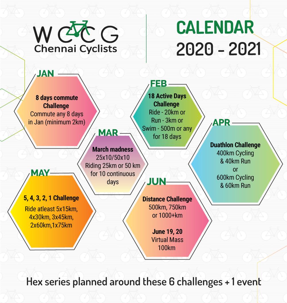 Events Calendar - 2020-21