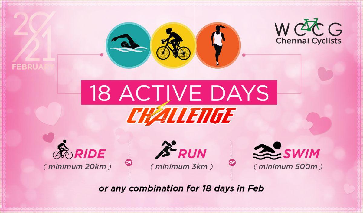 WCCG 18 Active Days Challenge - Feb 2021