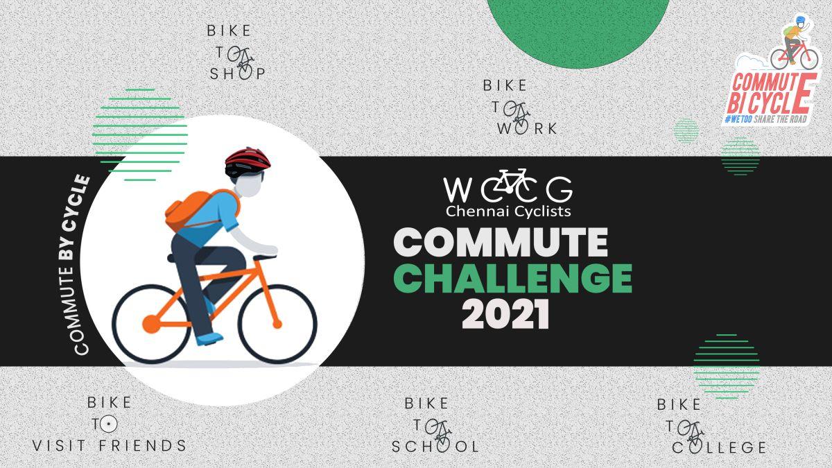 8 Days Commute Challenge - Jan 2021