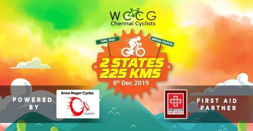 WCCG 2 State 225km ride 2019
