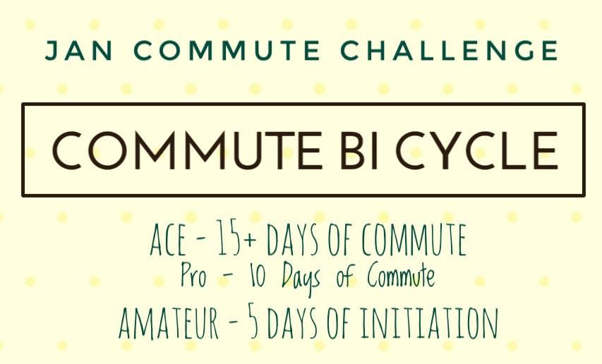 January Commute Challenge