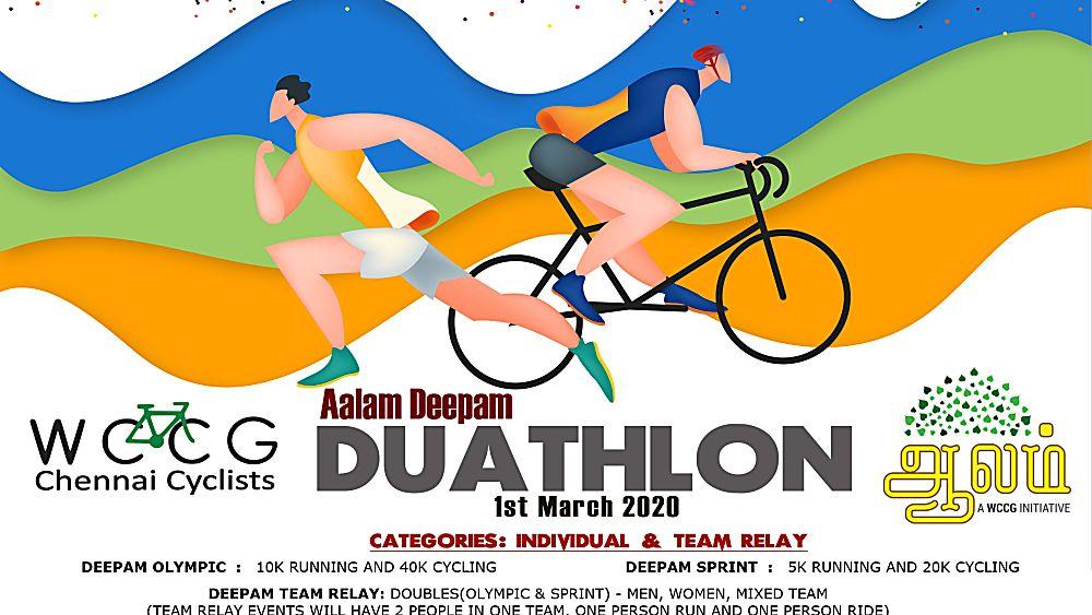 WCCG Aalam Deepam Chennai Duathlon 2020-image