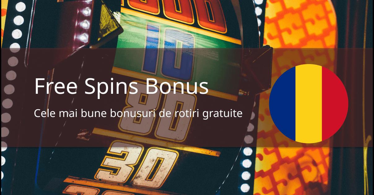 free spins romania