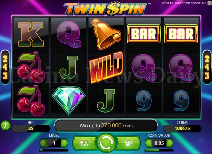 Twin-Spin-Slot-netent