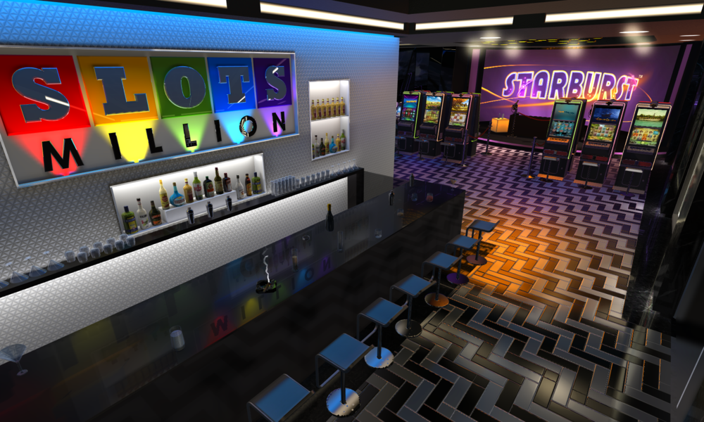 VR mobile slots games in online casino gaming