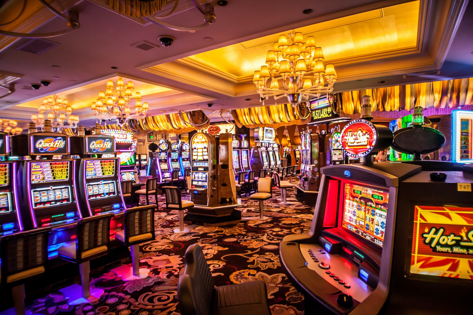 Here are the secrets to winning on slot machines