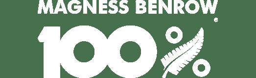 100% Magnness Benrow Logo BigCommerce