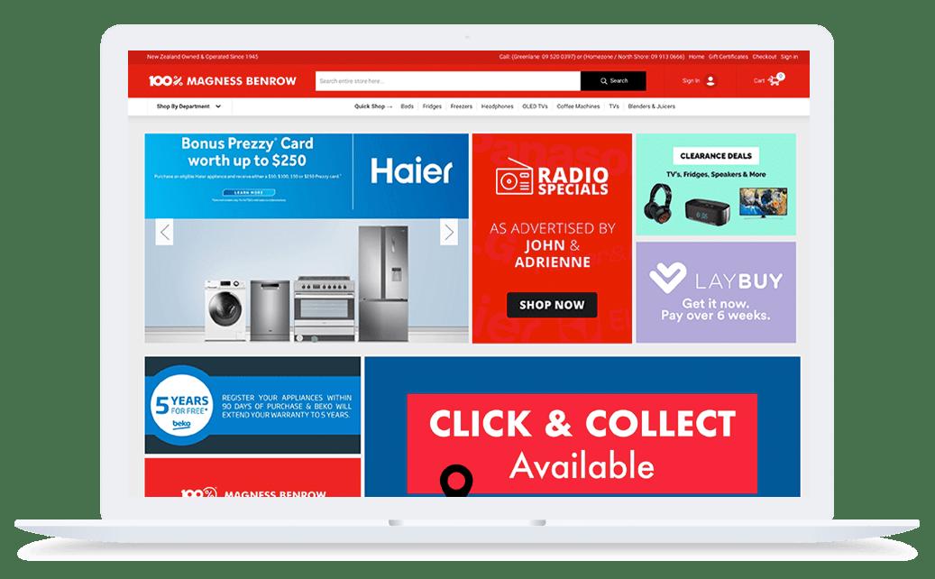 Magness BigCommerce Website