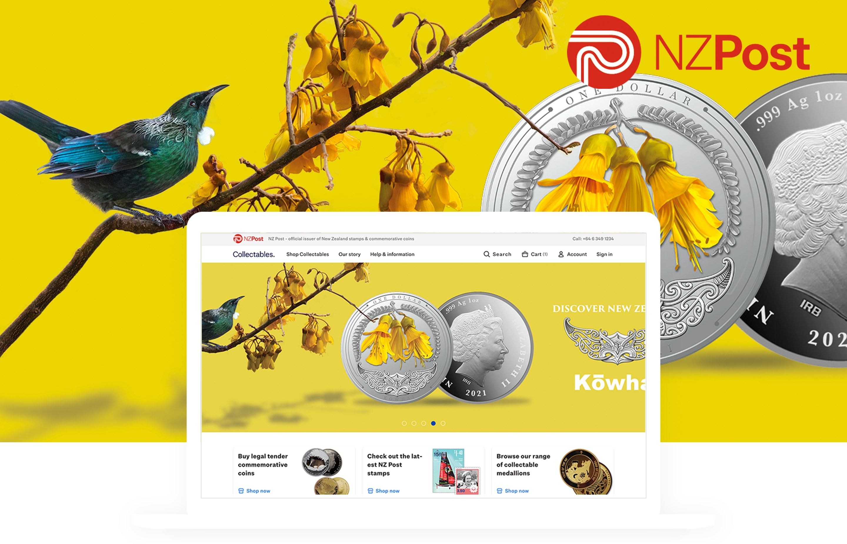 BigCommerce Website NZ Post Collectables