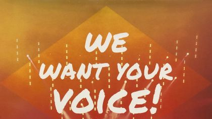 voice outreach poster