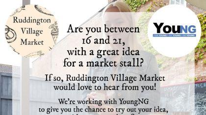 Ruddington village market