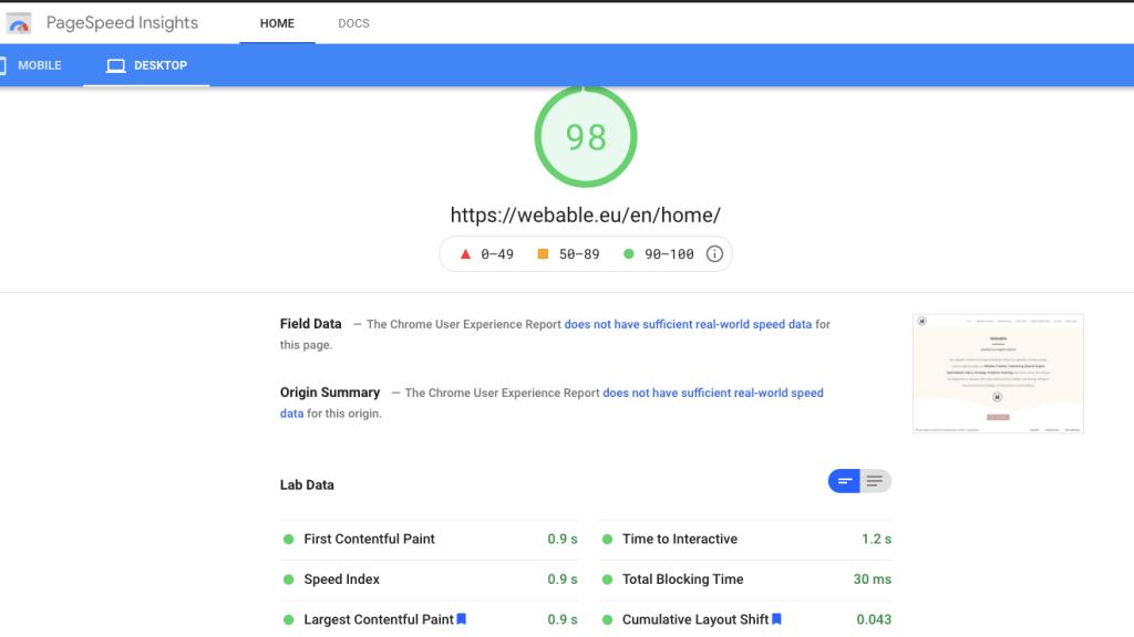 Core web vitals - Page Speed Insights - Core Web Vitals - Onpage SEO