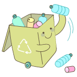 Recycle illustration - Free transparent PNG, SVG. No Sign up needed.