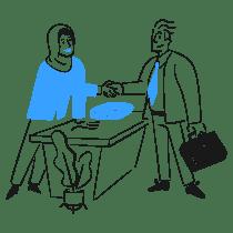 Business Deal 2 illustration - Free transparent PNG, SVG. No Sign up needed.
