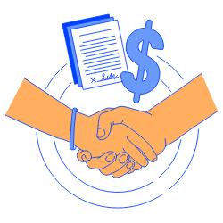 Business Deal illustration - Free transparent PNG, SVG. No Sign up needed.