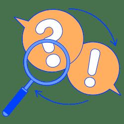 FAQ illustration - Free transparent PNG, SVG. No Sign up needed.