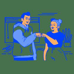 Team Work illustration - Free transparent PNG, SVG. No Sign up needed.