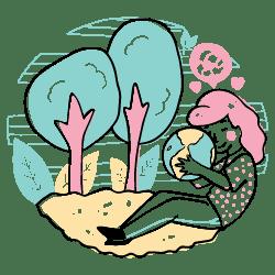 Ecology illustration - Free transparent PNG, SVG. No Sign up needed.