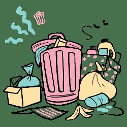 Garbage illustration - Free transparent PNG, SVG. No Sign up needed.