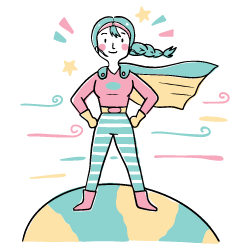 Girl Power 2 illustration - Free transparent PNG, SVG. No Sign up needed.