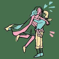 Love Wins illustration - Free transparent PNG, SVG. No Sign up needed.