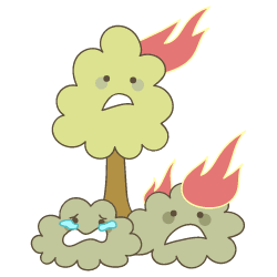 Wildfire Environment illustration - Free transparent PNG, SVG. No Sign up needed.