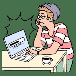 Waiting illustration - Free transparent PNG, SVG. No Sign up needed.