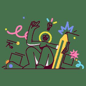 Design Thinking illustration - Free transparent PNG, SVG. No Sign up needed.