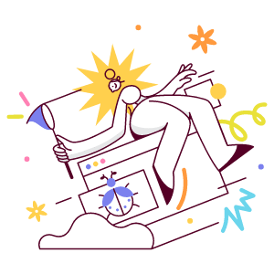 Fixing Bugs illustration - Free transparent PNG, SVG. No Sign up needed.