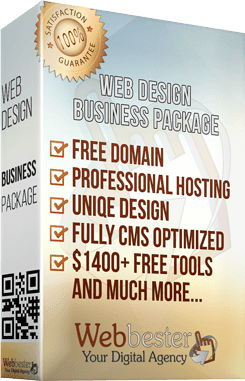 Business package web design services