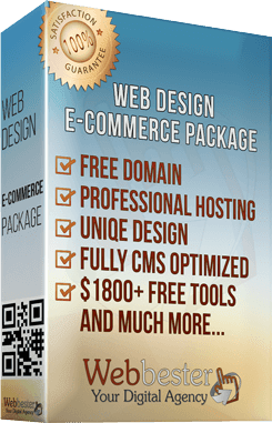 e-Commerce package web design services