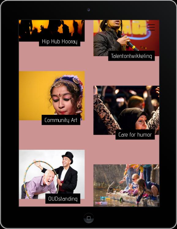 Liesje Doet op iPad