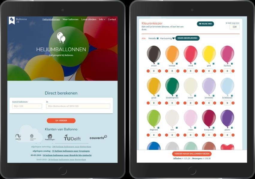 Ballonno op iPad
